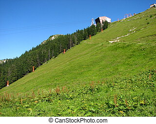 Postavarul Mountains, Brasov county, Romania