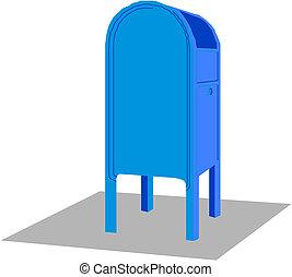 postbox, ベクトル, アイコン