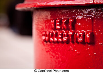 postbox, détail