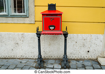 Postbox in Budapest