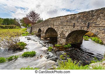 Postbridge Dartmoor National Park Devon