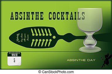 Postcard Absinthe Day - Postcard for holiday - National ...