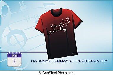 Postcard National Anthem Day