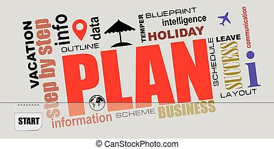 Postcard Plan your vacation
