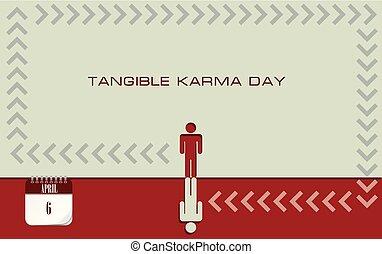 Postcard Tangible Karma Day - Post card Tangible Karma Day....