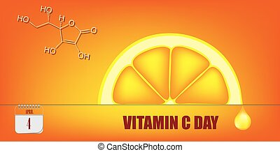 Postcard Vitamin C Day - Post card for event april day ...