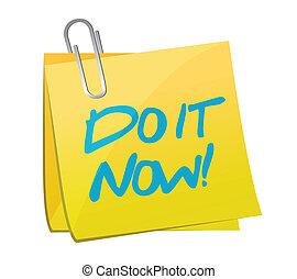 poste, ahora, diseño, él, ilustración
