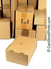 poste, paquet