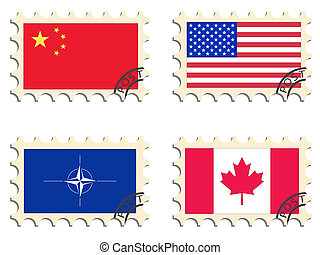 poste, selos