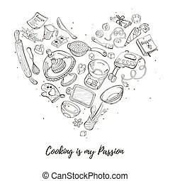 Poster about cooking