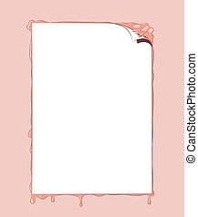 Poster As Blank Text Space - Vector Illustration Of A Poster...