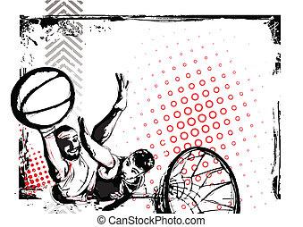 poster, basketbal