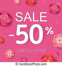 poster, bloemen, verkoop