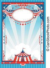 poster, circus