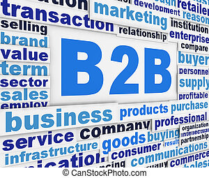 poster, concept, slagzin, b2b