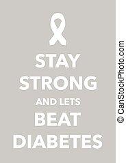 poster, diabetes