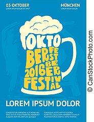 Poster for Oktoberfest Beer Festival