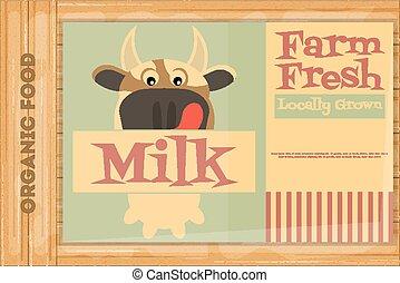 Poster for Organic Farm Food