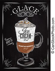 Poster glace chalk