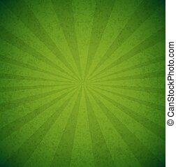 poster, groene, barsten