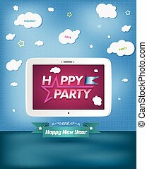 Poster Happy Party