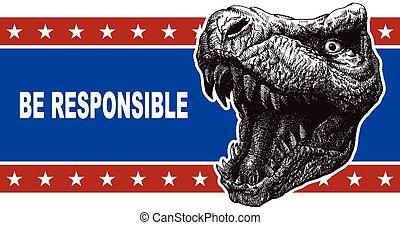 Poster illustration. - Poster illustration of votes of the...