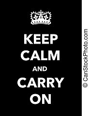 poster, kalm, bewaren