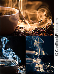 Poster of freshly brewed coffee