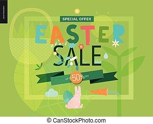 poster, pasen, verkoop