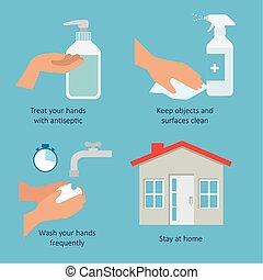 poster prevention of coronavirus 2019 ncov