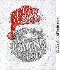 Poster Santa Claus