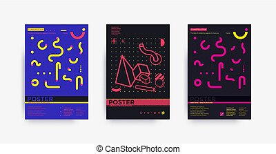 Poster set template