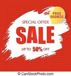 poster, verkoop, tekst