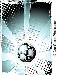 poster, voetbal