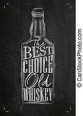 Poster whiskey best choice