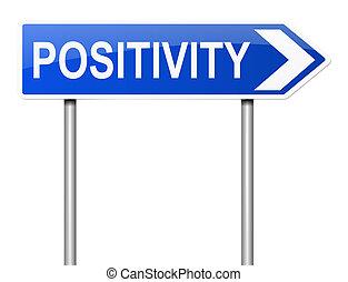 Postitivity concept.