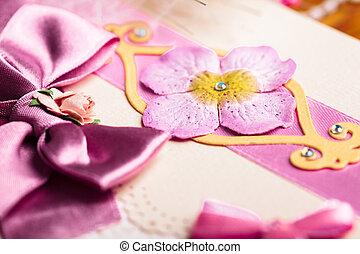 postkaart, huwelijk uitnodiging
