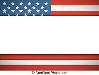 postkaart, tekst, amerikaan, lege ruimte