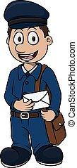 Postman Boy cartoon