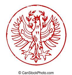 Postmark of South Tyrol
