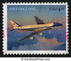 postmark - UNITED STATES - CIRCA 2007: Presidential...