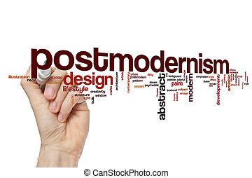 Postmodernism word cloud concept