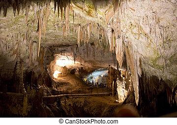 Postojna Cave - Postojna grotte in Slovenia