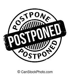postponed, tłoczyć, ścierka