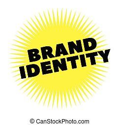 postzegel, afdrukken, merk, witte , identiteit