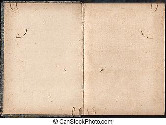 postzegel, album, oud