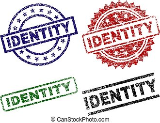 postzegel, beschadigd, textured, identiteit, zegels