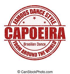 postzegel, capoeira