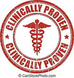 postzegel, clinically, proven