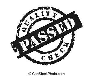 postzegel, controleren, passsed\\\', \\\'quality